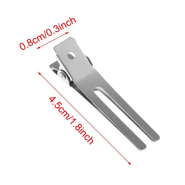 Hårklämma Double Prong Duck Mouth Fixed hair clip