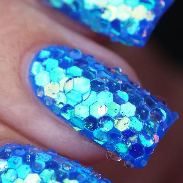 Nails Paljetter Glitter Dust 02 02
