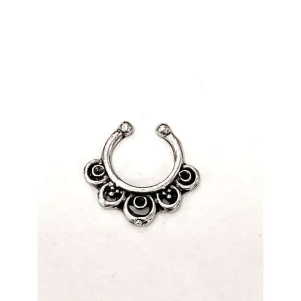 Fake septum piercing (1st) No.1