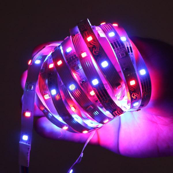 LED-List Stripe med RGB LED-Strip 5 meter SMD 2835 ljusslinga