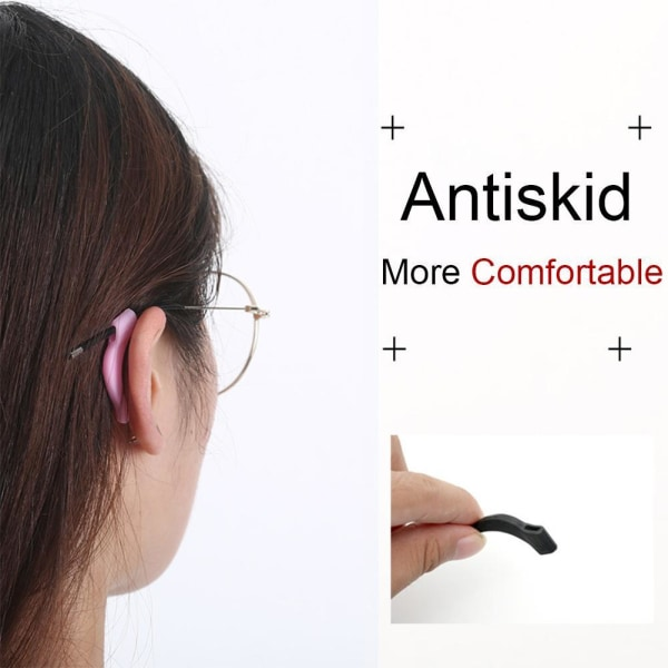 1 par glasögon Sport Anti-slip glasögon Ben Slip Cover öronkrok