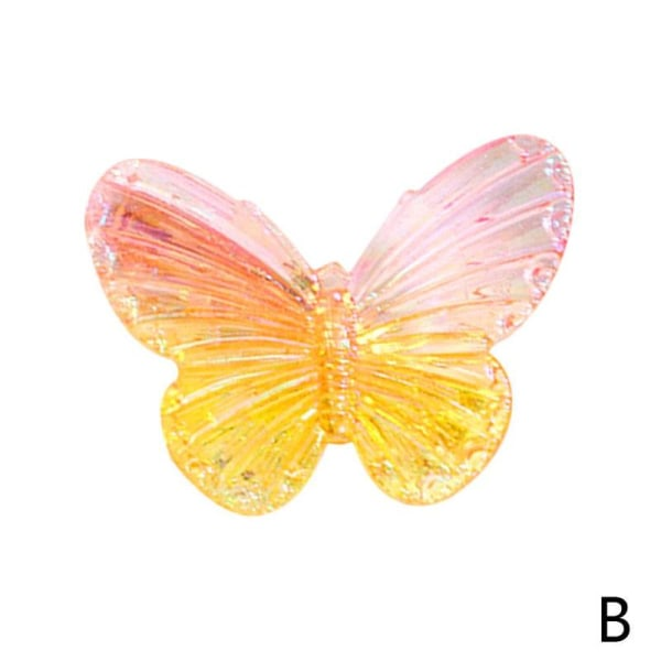 Butterfly Hairpins Fashion Hair Clips Handgjorda kvinnor bröllop