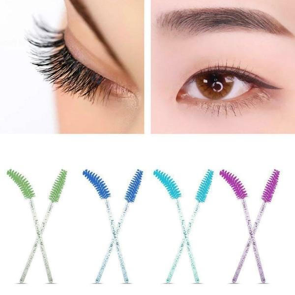 Ögonfransförlängning Engångs makeup ögonbrynborste