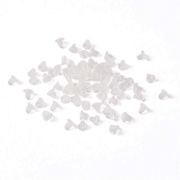 150 pack Pluppar/bakstycke till  örhängen i latex