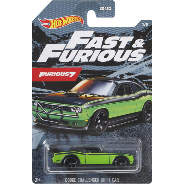 HOT WHEELS DECO FAST & FURIOUS Dodge Challenger