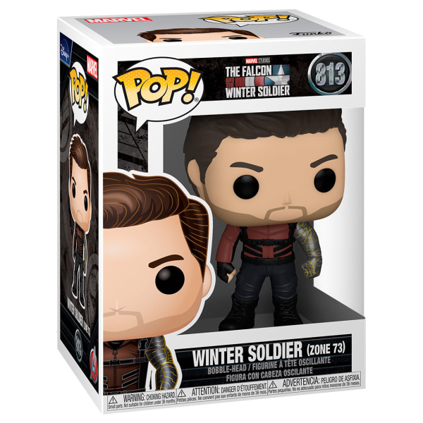POP Marvel The Falcon & Winter Soldier - Winter Soldier Zone 73