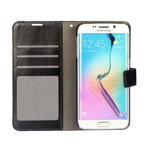 Samsung Galaxy S7 Edge fodral - svart svart