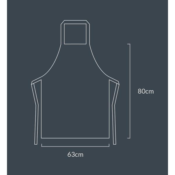 King Of The Grill - Förkläde - Svart svart one size
