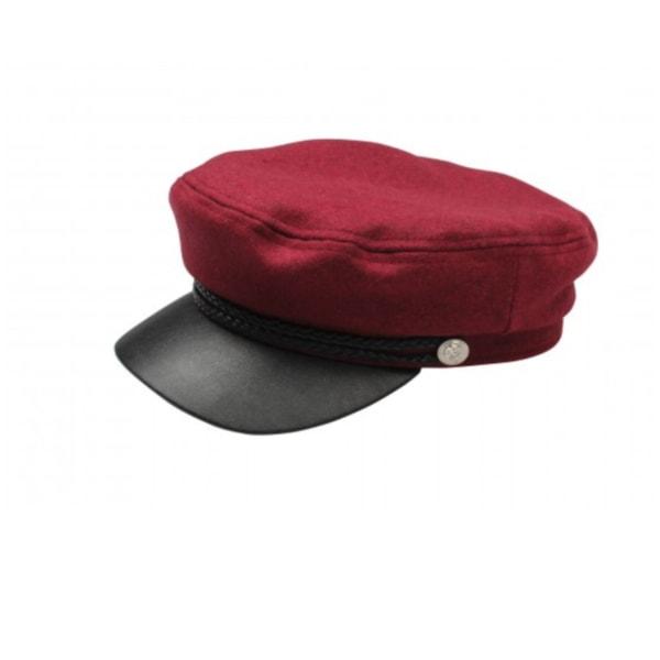 Röd/svart  Skepparmössa Vegamössa  Röd