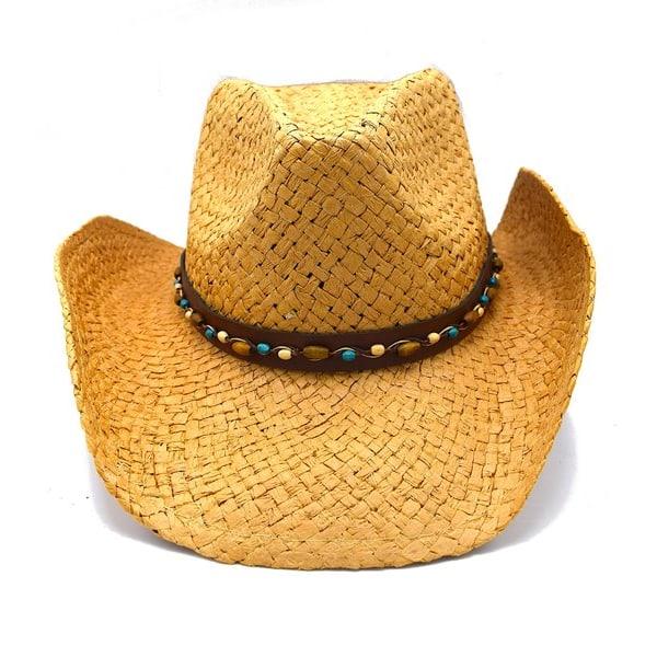 Cowboyhatt Pärlor - handgjord hatt