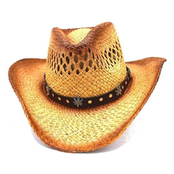 Cowboyhatt planta - handgjord hatt