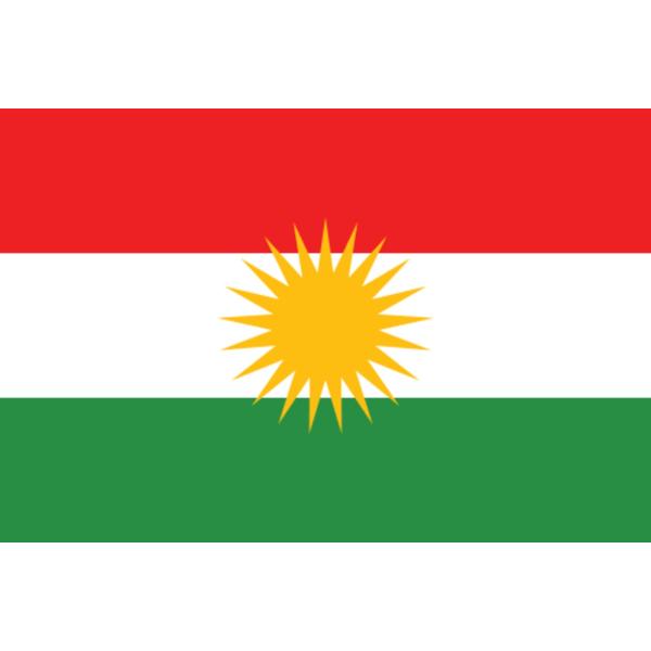 Flagga - Kurdistan