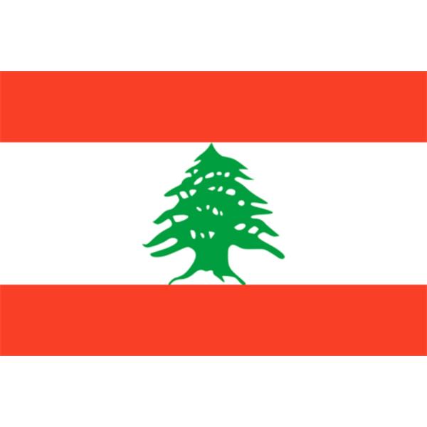 Flagga - Libanon