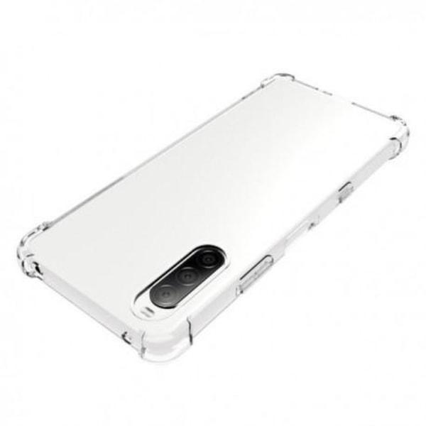 Xperia 10 III Stötdämpande Silikon Skal Shockr® Transparent