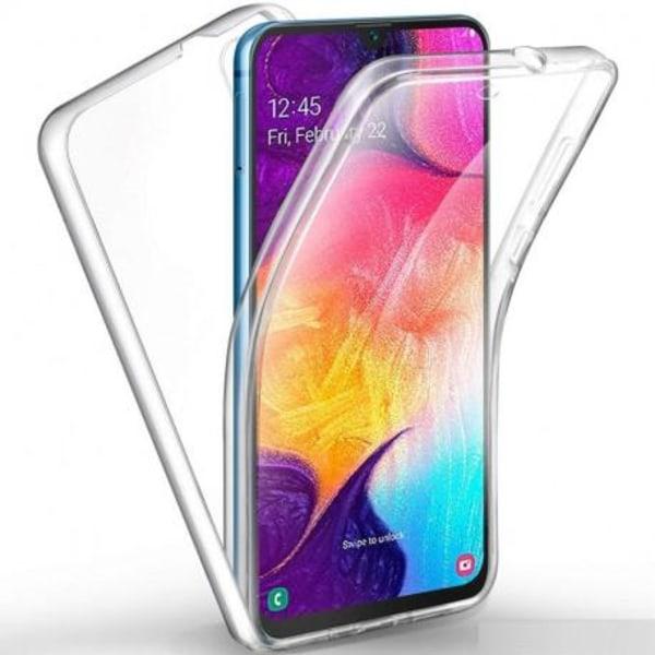 360° Heltäckande Silikonfodral Samsung A50 Transparent