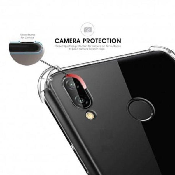 Samsung M20 Stötdämpande Silikon Skal Shockr® Transparent