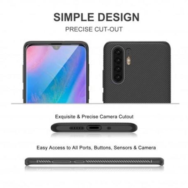Huawei P30 Stöttåligt Skal FullCarbon® V3 Svart