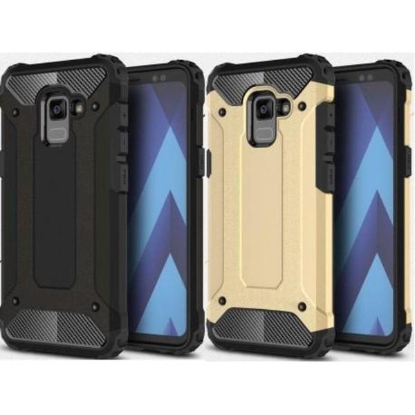 Samsung A8 2018 Stöttåligt Skal SlimArmor® Svart