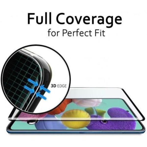 Samsung Galaxy A42 5G FullFrame® 0.26mm 9H Härdat Glas Transparent