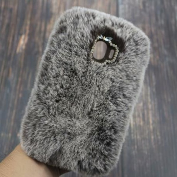 Samsung A6 2018 Gosig & Fluffigt Skal Fluff® Svart