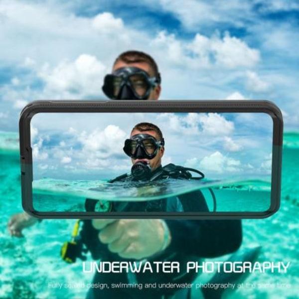 Huawei P40 Pro Heltäckande Vattentät Premium Skal - 2m Transparent