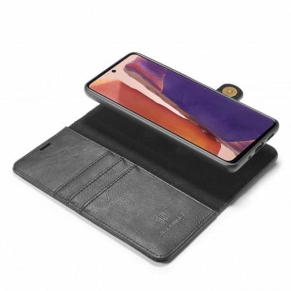 Mobilplånbok Magnetisk DG Ming Samsunte Note 20 Svart