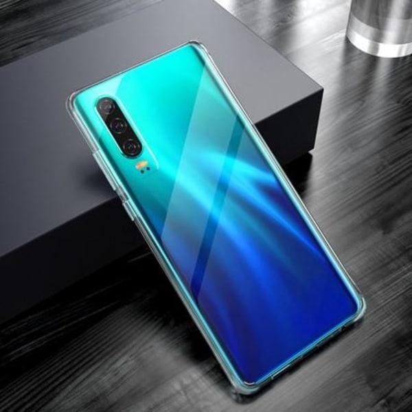Huawei P30 Stötdämpande Skal Glassback® Transparent