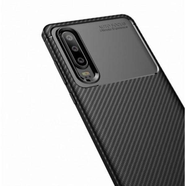 Huawei P30 Stöttåligt Skal FullCarbon® V4 Svart
