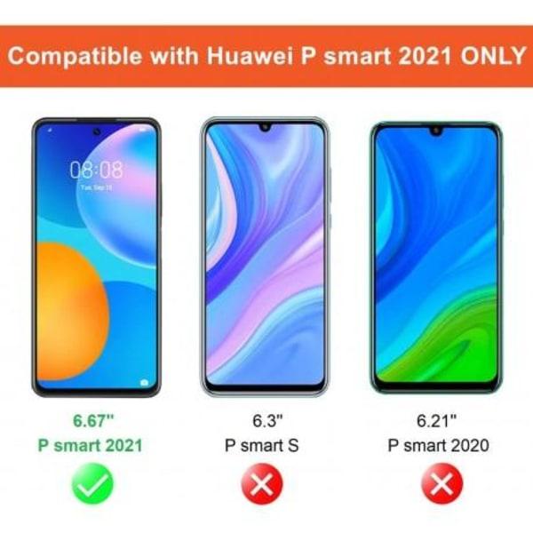 2-PACK P Smart 2021 Härdat glas 0.26mm 2.5D 9H Transparent
