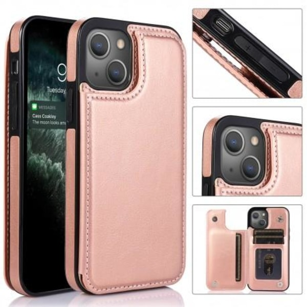 iPhone 13 Stöttåligt Skal Korthållare 3-FACK Flippr® Svart