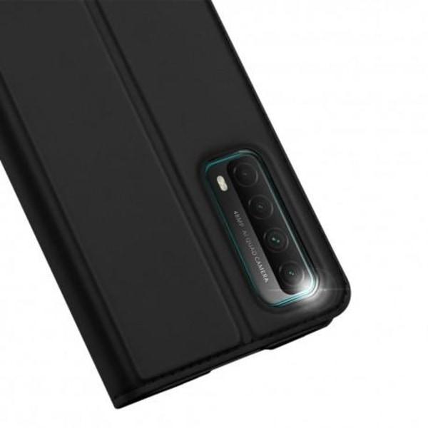 Huawei P Smart 2021 Flipfodral Smooth® Kortfack Svart