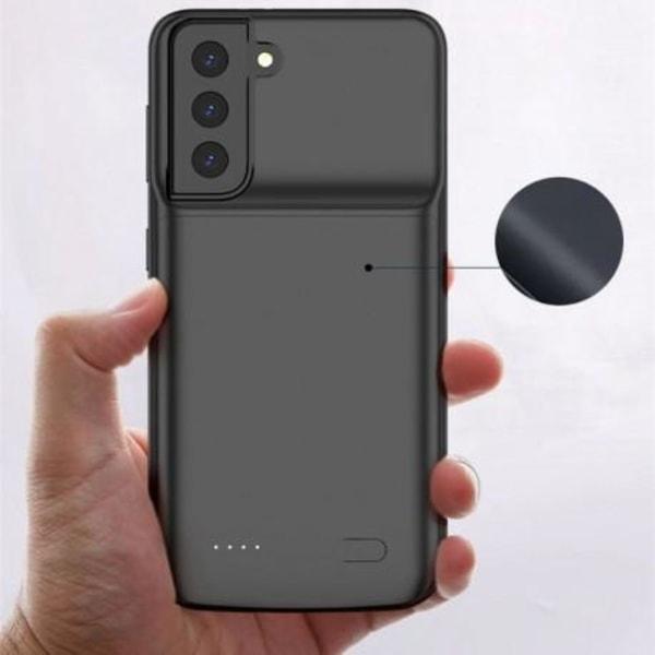 Samsung S21 Plus Exklusivt Batterikal Tech-Protect PowerCase 600 Svart
