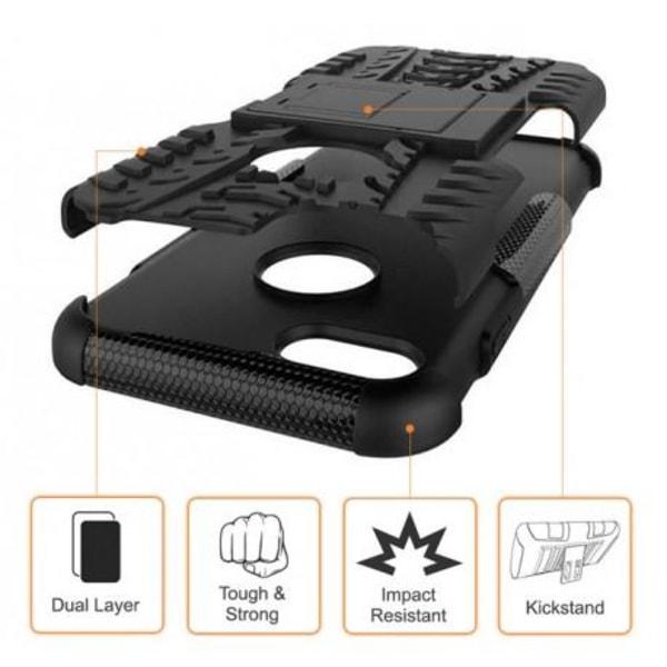 iPhone 8 Plus Stöttåligt Skal med Stöd Active® Orange