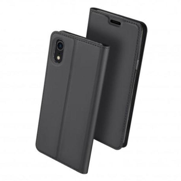 iPhone XR Flipfodral Smooth® Kortfack Svart