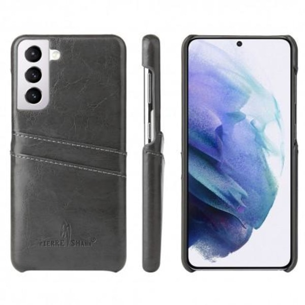 Samsung S21 Plus Mobilskal Korthållare Retro® Svart