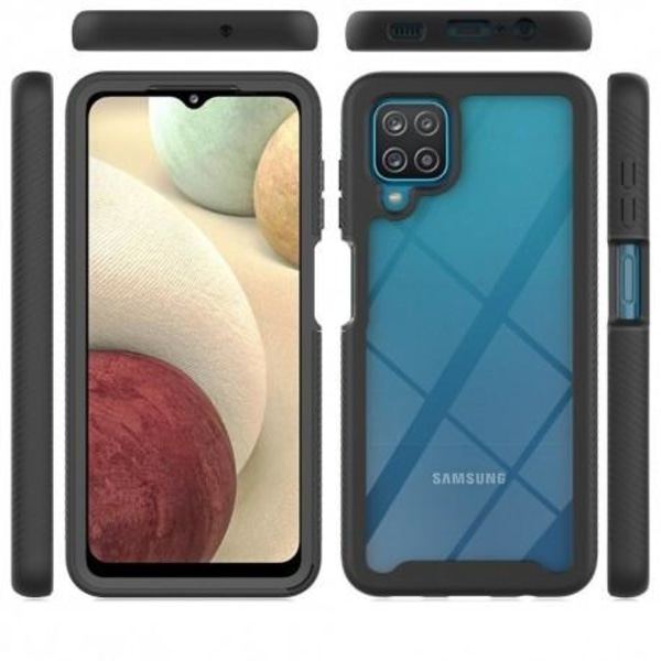 Samsung A12 Heltäckande Skal Tech-Protect Defense 360 Transparent