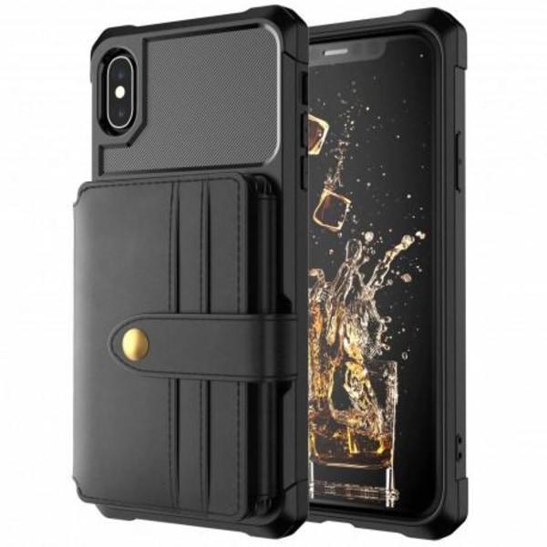 iPhone XR Stöttåligt Premium Skal 11-FACK Solid® V4 Svart