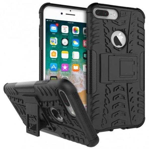 iPhone 7 Plus Stöttåligt Skal med Stöd Active® Röd