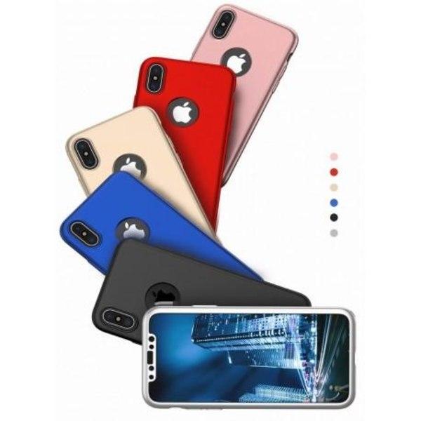 iPhone XR   360° 3in1 FullCover Skal + 0.26mm 9H Glas Svart