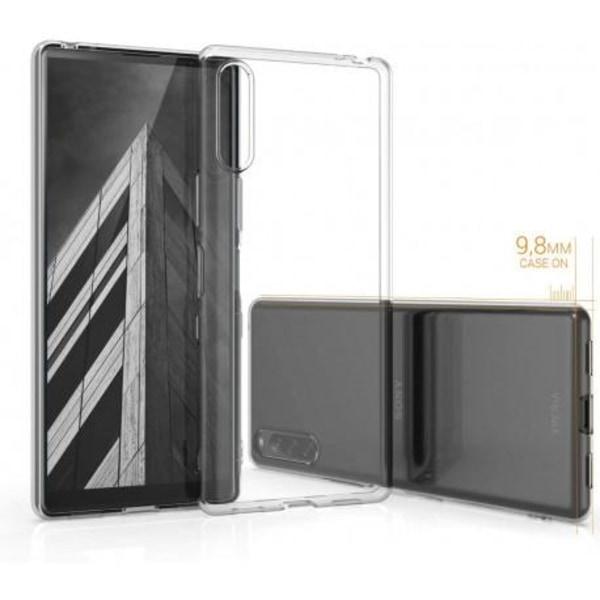 Xperia L4 Stötdämpande Mjukt Skal Simple® Transparent