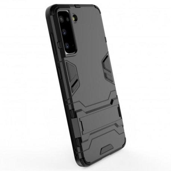 Samsung S21 Plus Stöttåligt Skal med Kickstand ThinArmor® Svart