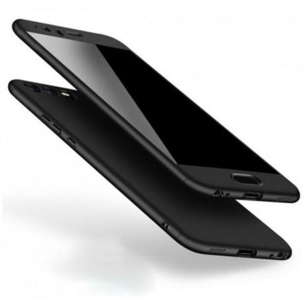 Huawei P9 Lite   360° 3in1 FullCover Skal + 0.26mm 9H Glas Svart