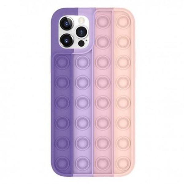 iPhone 7 Plus / 8 Plus Skyddande Skal Fidget Toy Pop-It multifärg