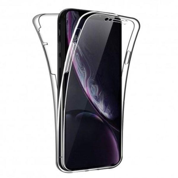 360° Heltäckande Silikonfodral iPhone XR Transparent