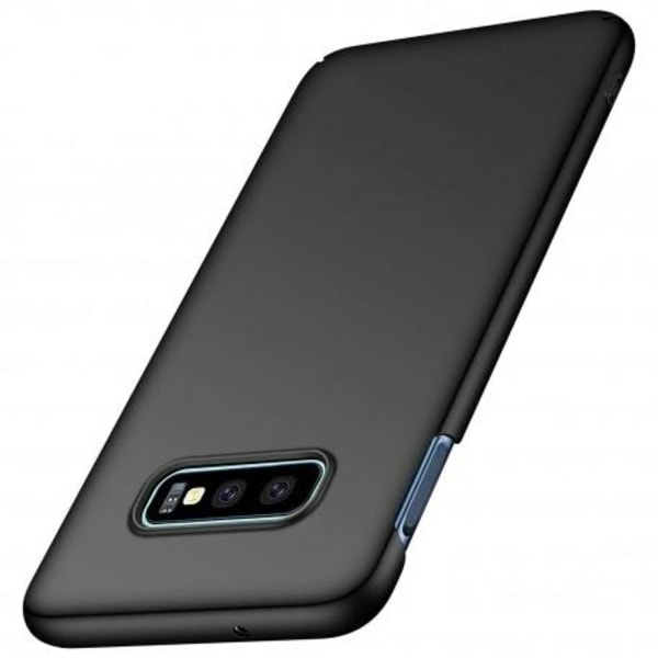 Samsung S10e Ultratunn Gummibelagd Mattsvart Skal Basic® V2 Svart