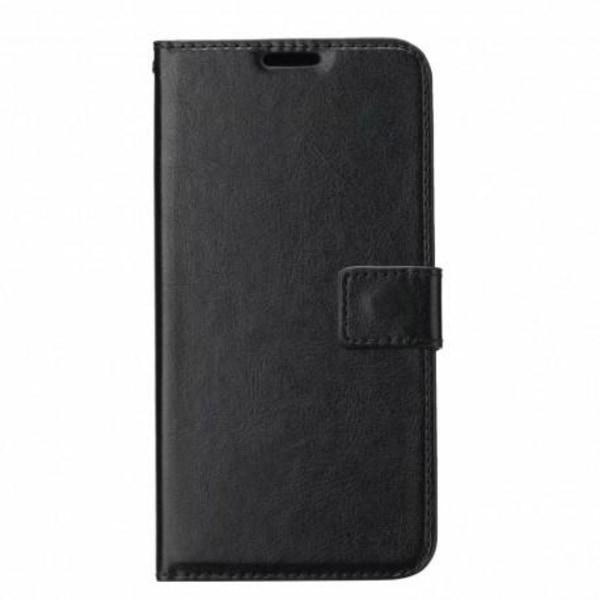 Samsung A12 Plånboksfodral PU-Läder 4-FACK Svart