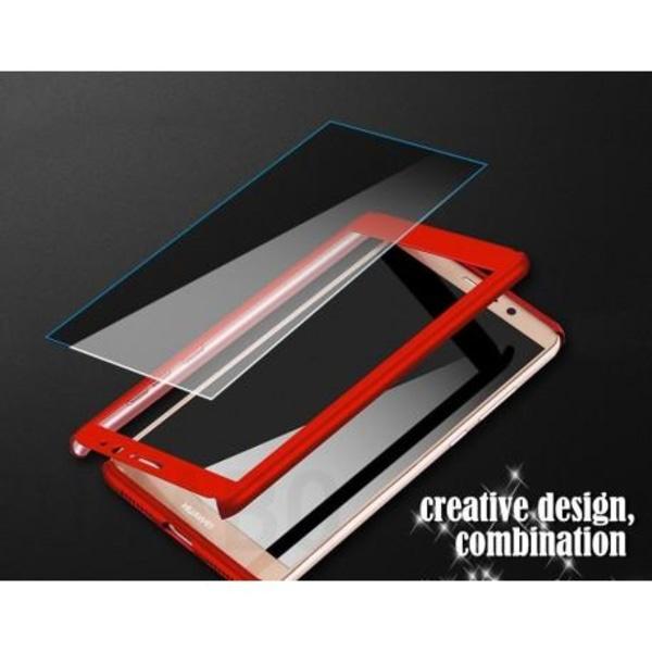 Huawei P20 Lite 360° 3in1 FullCover Skal + 0.26mm 9H Glas Svart