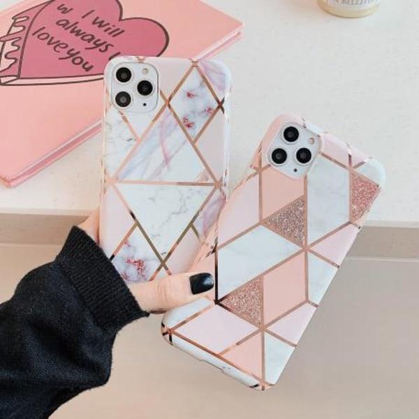 iPhone 11 Pro Stilrent Marmorskal Premium Rosa