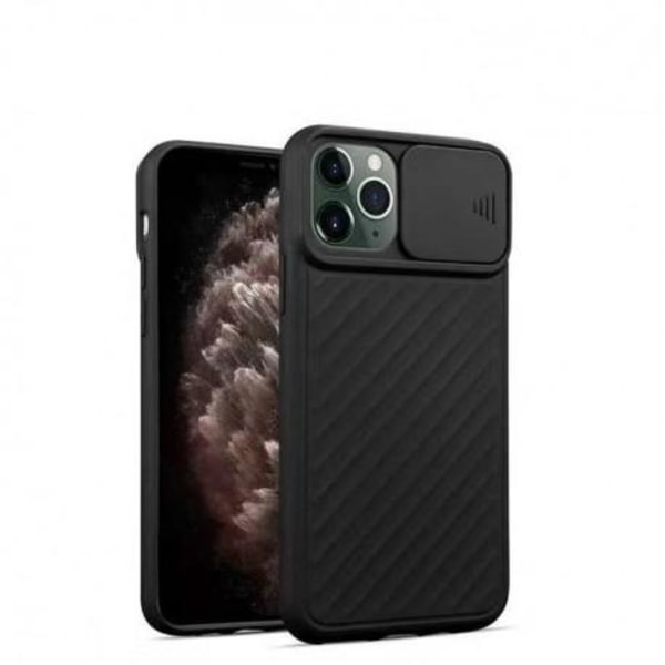 iPhone 11 Stöttåligt Skal Inbyggd Kamerskydd CamShield Grön