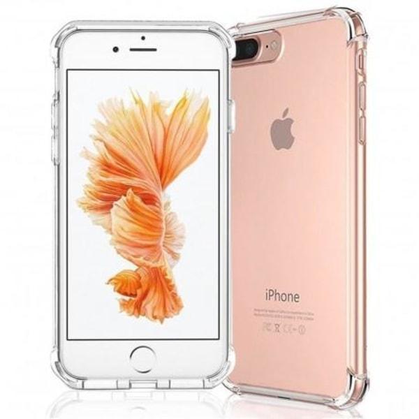 iPhone 8 Plus Stötdämpande Silikon Skal Shockr® Transparent